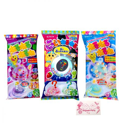 Educational confectionery popular Channel Channel 3-piece set