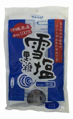 Enthusiasm Yukishio brown sugar domestic 120g
