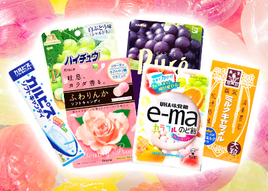Delicious and Unique♪ <br> Candy & Gum from Japan